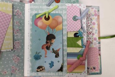Scrapbook Album Grande Páginas decoración