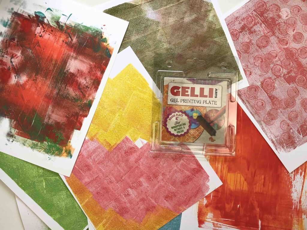 Papel decorado con GElli PLATE